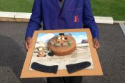 Students bake trench cakes to raise money for Royal British Legion