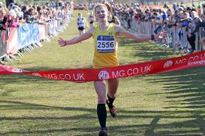 Athletics: Kingston's Phoebe Law finishes second at South of England Champs